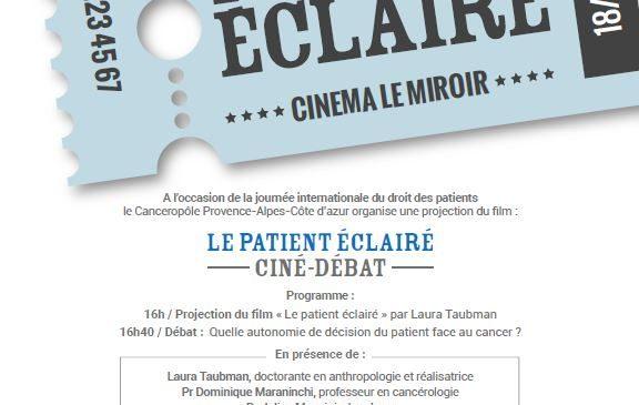 Ciné-débat «le patient éclairé»