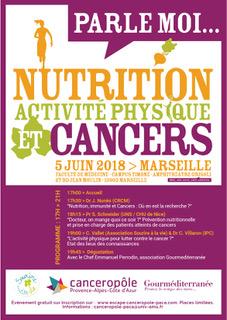 Parle moi… Nutrition, activité physique et cancers